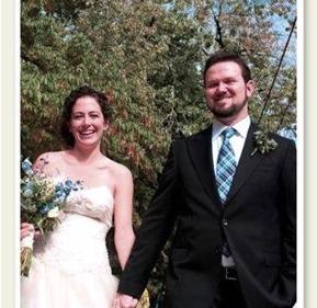 Brian Liberty and Emily Tafler