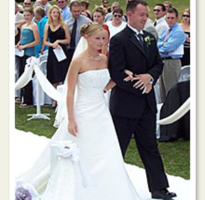 Rob Redden and Erin Stinson
