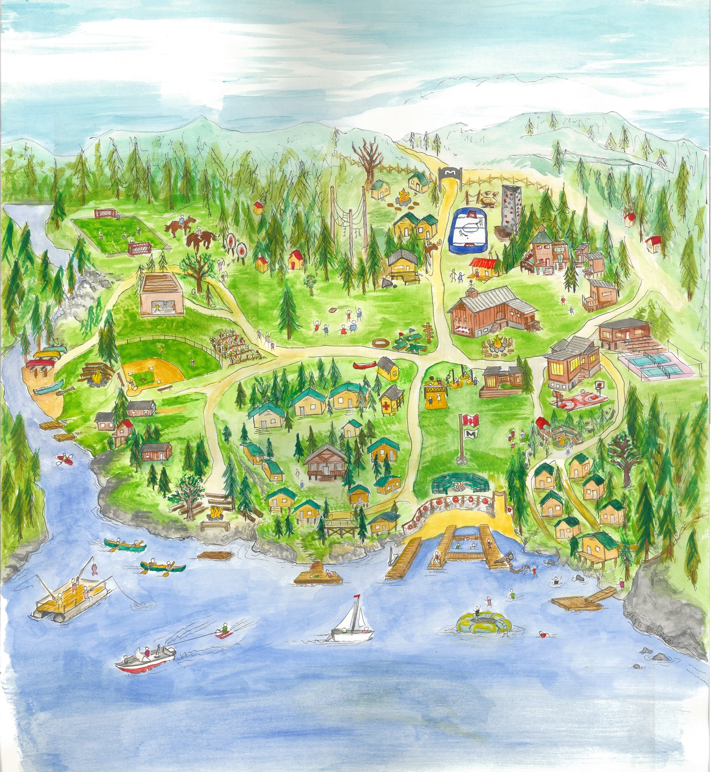 Camp Map | Camp Manitou Young Life Camp Map on fca camp, castaway camp, young women activities on pinterest, girl scouts camp, ymca camp, young living sign up, swimming pool from camp,